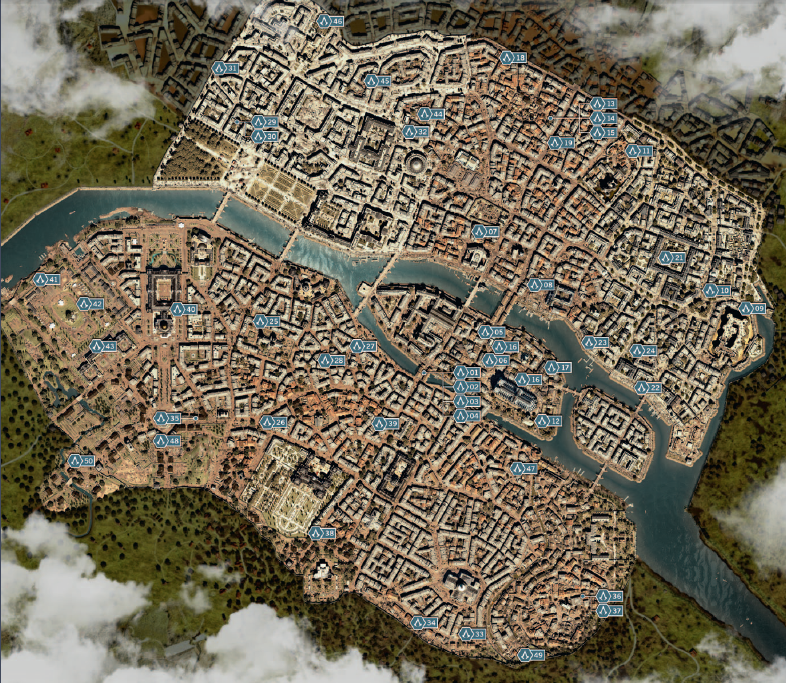 Video Game Maps | Comparison tables - SocialCompare
